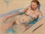 Живопись | Зинаида Серебрякова | Купающаяся обнаженная, 1927