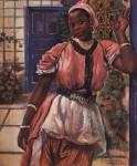 Живопись | Зинаида Серебрякова | Марокканка в розовом платье, 1932