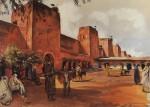 Живопись | Зинаида Серебрякова | Марракеш. Стены и башни города, 1928
