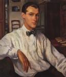 Живопись | Зинаида Серебрякова | Портрет С.Р. Эрнста, 1921