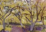 Живопись | Зинаида Серебрякова | Фруктовый сад в цвету, 1908