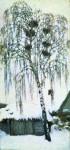 Живопись | Игорь Грабарь | Белая зима. Грачиные гнезда, 1904