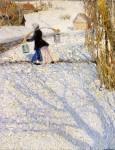 Живопись | Игорь Грабарь | Мартовский снег, 1904