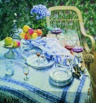 Живопись | Игорь Грабарь | Неприбранный стол, 1907