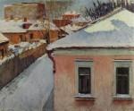 Живопись | Игорь Грабарь | Уголок уходящей Москвы, 1930