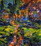 Живопись | Карл Шмидт-Ротлуф | Деревенский дом, 1907
