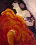 Живопись | Кес ван Донген | Красная танцовщица, 1907