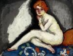Живопись | Кес ван Донген | Сидящая обнаженная, 1907