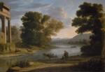 Живопись | Клод Лоррен | Брод, 1644