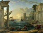 Живопись | Клод Лоррен | Отплытие царицы Савской, 1648