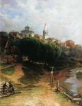 Живопись | Николай Маковский | Вид города, 1884