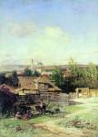Живопись | Николай Маковский | Вид на Волге близ Нижнего Новгорода, 1878