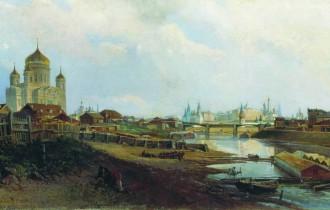 Уличный живописец Николай Маковский