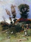Живопись | Николай Маковский | Пасека, 1882
