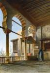 Живопись | Николай Маковский | Терраса в Каире, 1874