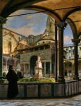 Живопись | Одоардо Боррани | La Cappella dei Pazzi