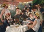 Живопись | Пьер Огюст Ренуар | Завтрак гребцов, 1880-81