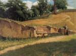 Живопись | Рафаэлло Сернези | Abetelle a San Marcello Pistoiese, 1864-65