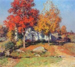 Живопись | Уиллард Лерой Меткалф | Октябрь, 1908