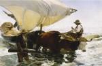 Живопись | Хоакин Соролья-и-Бастида | Возвращение с рыбалки, 1894