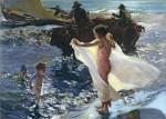 Живопись | Хоакин Соролья-и-Бастида | Время купания