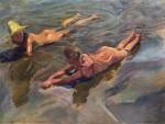 Живопись | Хоакин Соролья-и-Бастида | Морская идиллия, 1908