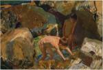 Живопись | Хоакин Соролья-и-Бастида | Сбор мидий, 1919