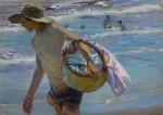 Живопись | Хоакин Соролья-и-Бастида | Юный рыбак, 1904