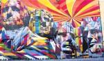 Стрит-арт | Эдуардо Кобра | Мемориал Рашмор