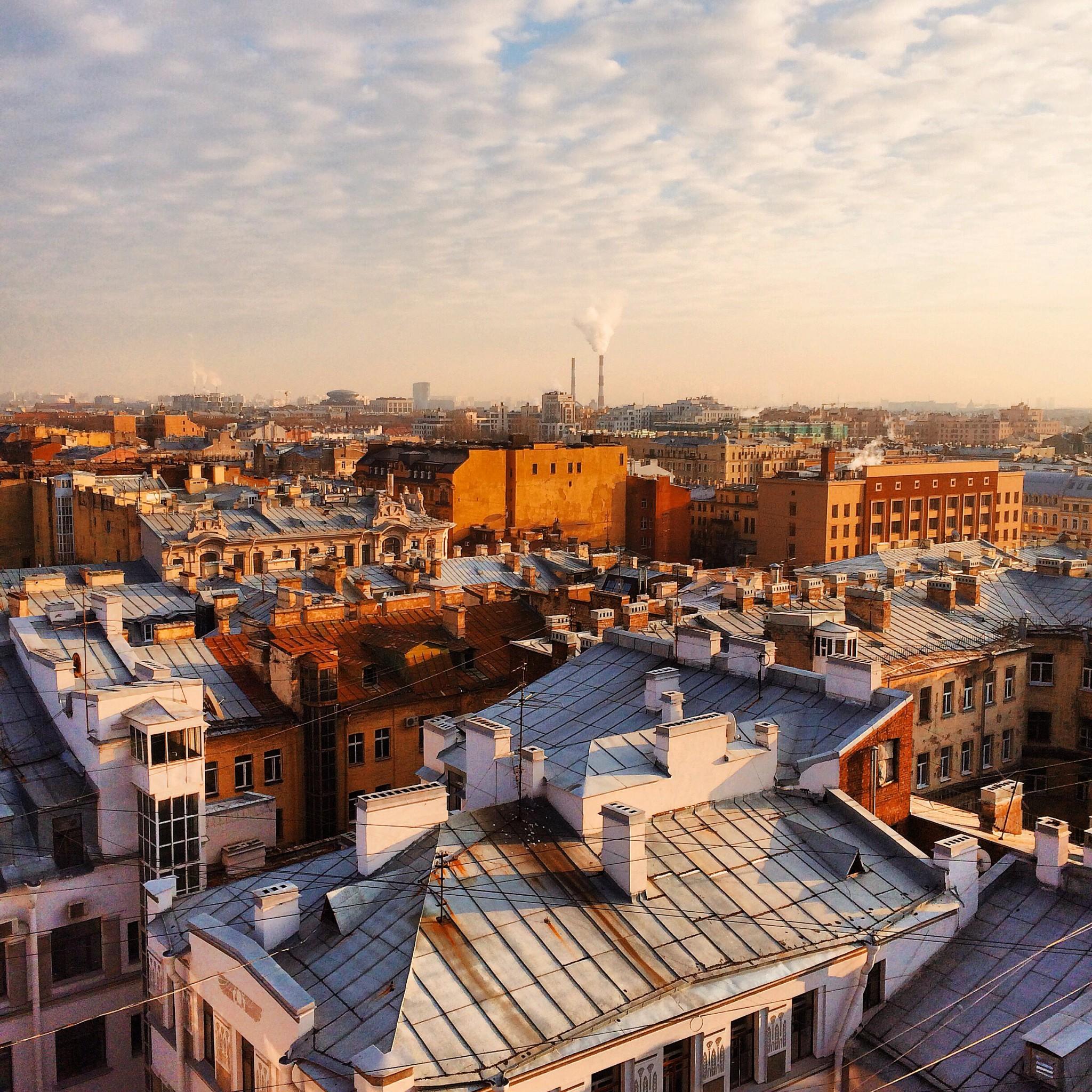 Картинки крыши санкт петербурга