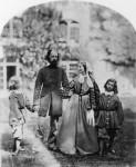 Фотография | Оскар Густав Рейландер | Альфред и Эмили Теннисон с детьми, около 1862