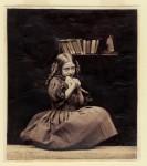 Фотография | Оскар Густав Рейландер | Девочка с птицей