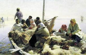 Абрам Архипов и его сельские зарисовки