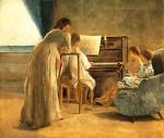 Живопись | Адриано Чечони | La Lezione di Piano