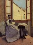 Живопись | Адриано Чечони | Aunt Erminia, 1867-70