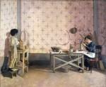 Живопись | Адриано Чечони | Children Working in Alabaster
