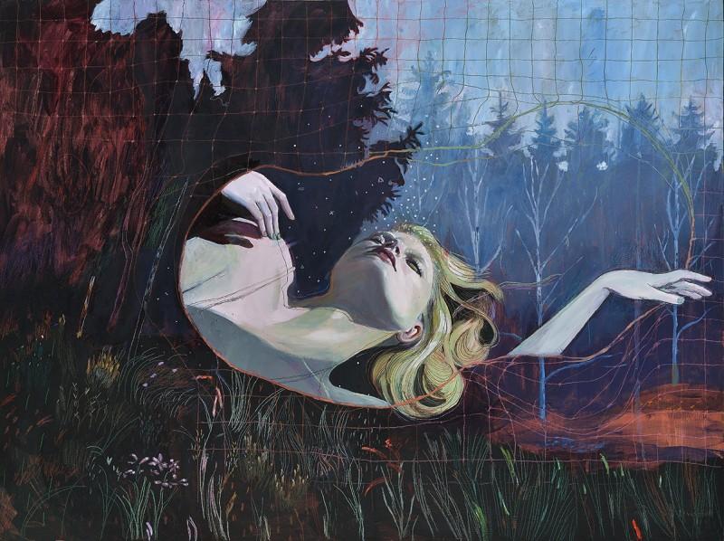 Александра Левассер – говорящая через живопись