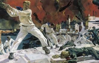 Оборона Священного Города Александра Дейнеки