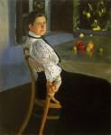 Живопись | Александр Мурашко | На веранде. Портрет О.И. Мурашко, 1906