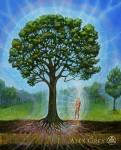 Живопись | Алекс Грей | Tree and Person