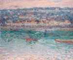 Живопись   Джон Питер Рассел   Буксир на Сене, 1887