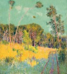 Живопись   Джон Питер Рассел   A Clearing in the Forest, 1891