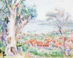 Живопись   Джон Питер Рассел   Bay of Roses, Sydney
