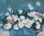 Живопись   Джон Питер Рассел   White Peonies, 1886-88