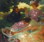 Живопись | Лео Путц | Пикник, 1903