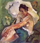 Живопись | Лео Путц | Evening Sun, Adelheid, 1927