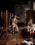 Живопись | Луис Хименес Аранда | En el estudio del pintor, 1882