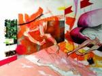 Живопись | Милана Ювента | Orange legs