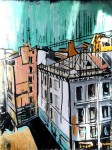 Живопись   Милана Ювента   Urban view, 2015
