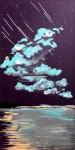 Живопись   Милана Ювента   Violet starfall